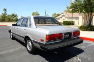 1984 toyota cressida 1984 toyota cressida luxury sedan 4 door 2 8l for sale