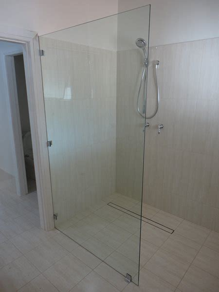 Glass Shower Panels by Shower Screens Newcastle Maitland From 541