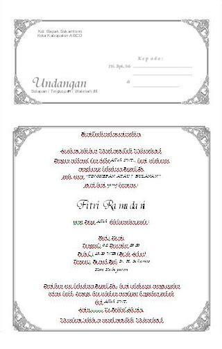 contoh surat undangan syukuran 4 bulanan template undangan aqiqah holidays oo
