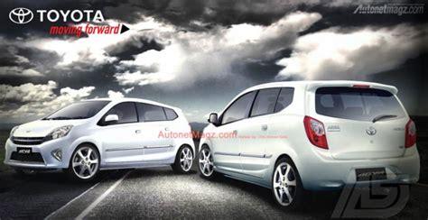 New Emblem Logo Untuk Mobil Astra Toyota Agya Original inilah toyota calya agya mpv 7 seater adik toyota avanza