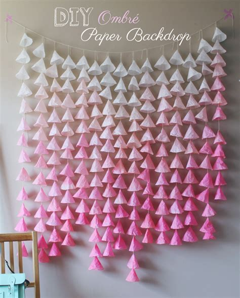 Backdrop Paper Flower Hiasan Jendela Ready Stock frugal and nifty diy paper backdrops