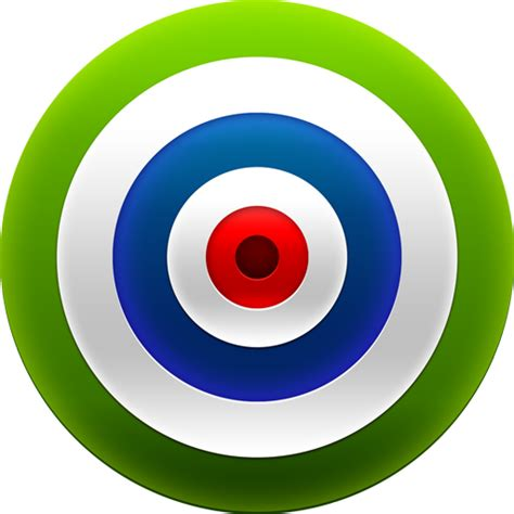 green wallpaper target target icons png vector free icons and png backgrounds