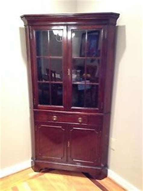 tell city china cabinet value vintage tell city chair company solid rock maple