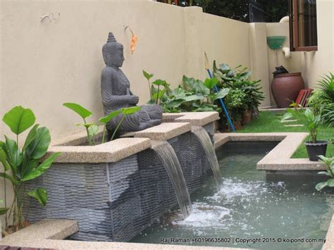 koi pond idea  design fountain design trading
