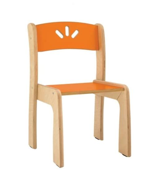 sedie per bambini sedia impilabile in multistrato di betulla per bambini