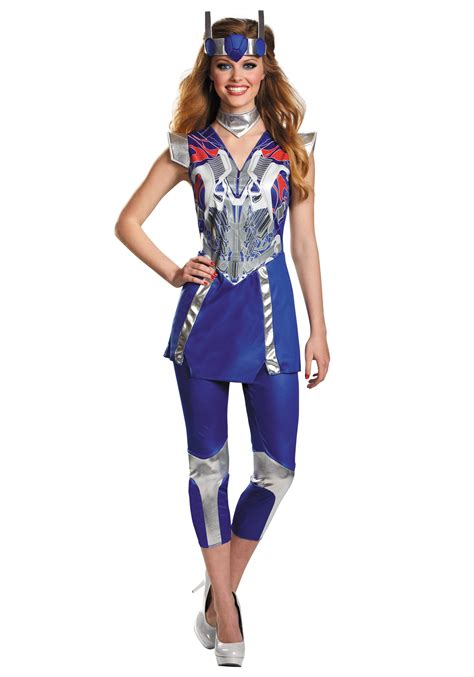 womens costumes womens transformers 4 optimus prime costume