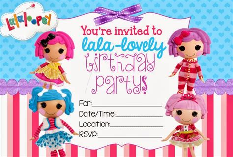 lalaloopsy birthday invitations party invitations ideas 40th birthday ideas lalaloopsy birthday invitation