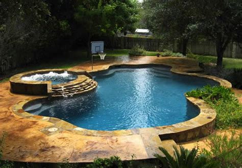 15 Fabulous Swimming Pool With Spa Designs Home Design Lover Swimming Pool And Spa Design