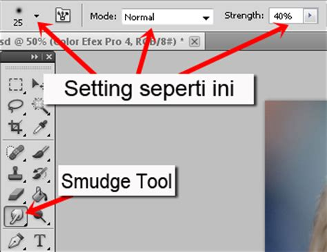 tutorial teknik smudge tool tutorial smudge painting dengan adobe photoshop sotosop