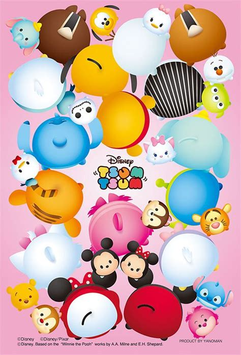 Sprei Tsum Tsum Disney 160 X 200 X 30 69 best images about ジグソーパズル on sushi sushi rolls and winnie the pooh