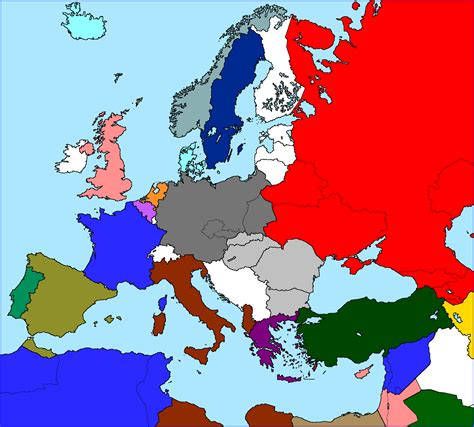 1940 map of europe the new our timeline maps thread page 72 alternate