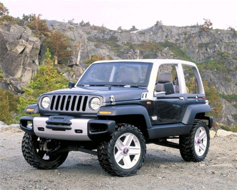 Twenty Five Great Jeep Concepts From The Past Hooniverse