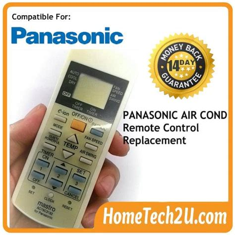 Ac Panasonic Malaysia air conditioner remote for panasonic air cond