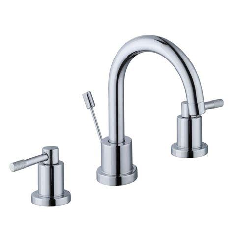 schon 8 in widespread 2 handle high arc bathroom faucet