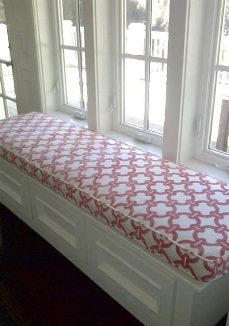 how to cushion a bench window bench cushions give your home a class look home