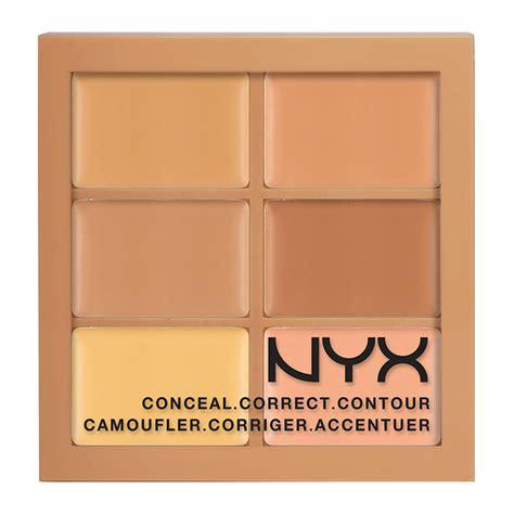 Nyx Conceal Correct Contour Palette 100 Ori nyx professional makeup conceal correct contour palette