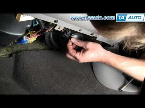 replace blower motor resistor ford taurus how to install heater ac blower motor cavalier sunfire 95 05 1aauto how to save money and
