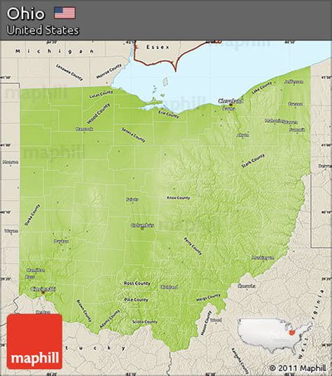 ohio physical map ohio physical map 28 images ohio physical map by maps