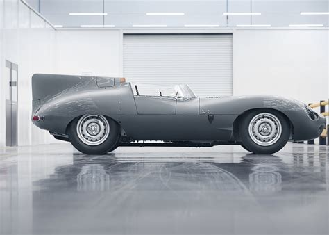 designboom jaguar jaguar restarts production of classic d type race car