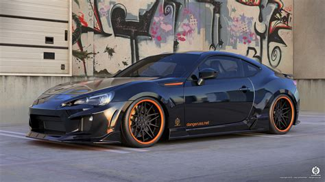 custom subaru brz wallpaper brz nero by dangeruss on deviantart