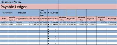 excel accounts receivable template accounts payable excel template exceldatapro