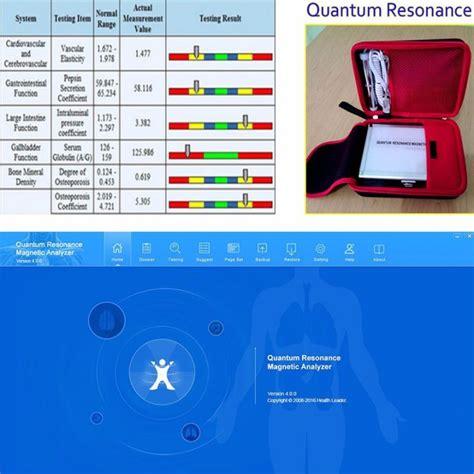 Alat Quantum Resonance Magnetic Quantum Resonance Magnetic Analyzer Metatron