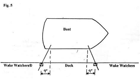 wake watchers boat mooring system wake watchers mooring arms best prices dockgear