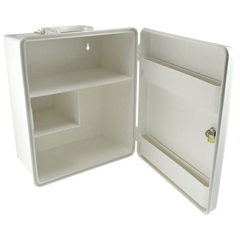 wall mounted first aid cabinet empty wall mounted plastic cabinet empty lockable 2 shelves