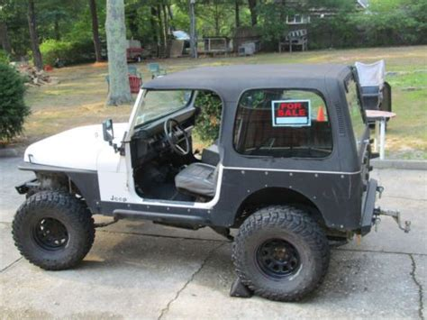 6 Inch Jeep Wrangler Lift Buy Used 1988 Jeep Wrangler With 6 Inch Lift 33 Inch