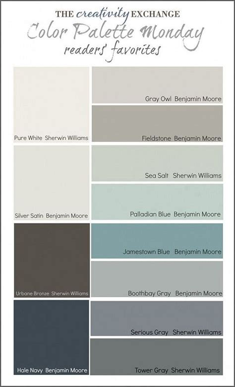 popular color palette ideas readers favorite paint color favoritepaintecolor popularpaintcolor
