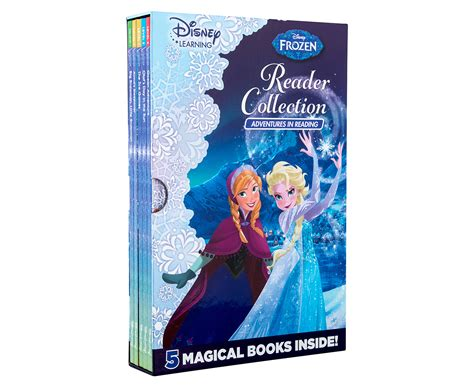 5 Books For A Wide Reader by Disney Frozen Reader Collection 5 Book Set Great Daily