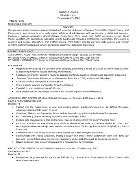 tammy clark resume