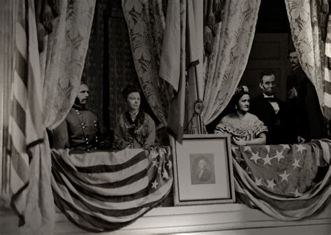 lincoln box lincoln s assassination from the front row clementine s nest
