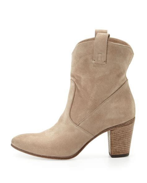 slouchy ankle boots alberto fermani chiara slouchy suede ankle boot in beige