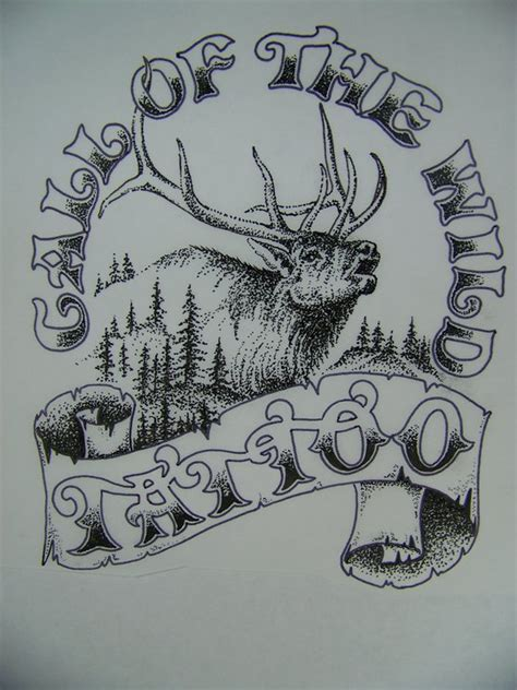 call of the wild tattoo call of the home