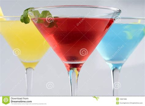martini tropical tropical martini style drinks with fruit garnish stock