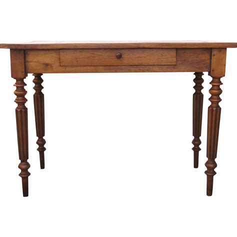 small writing table desk fruitwood 19th century small writing table desk