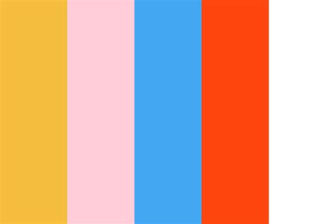what color is happy thank you happy birthday color palette