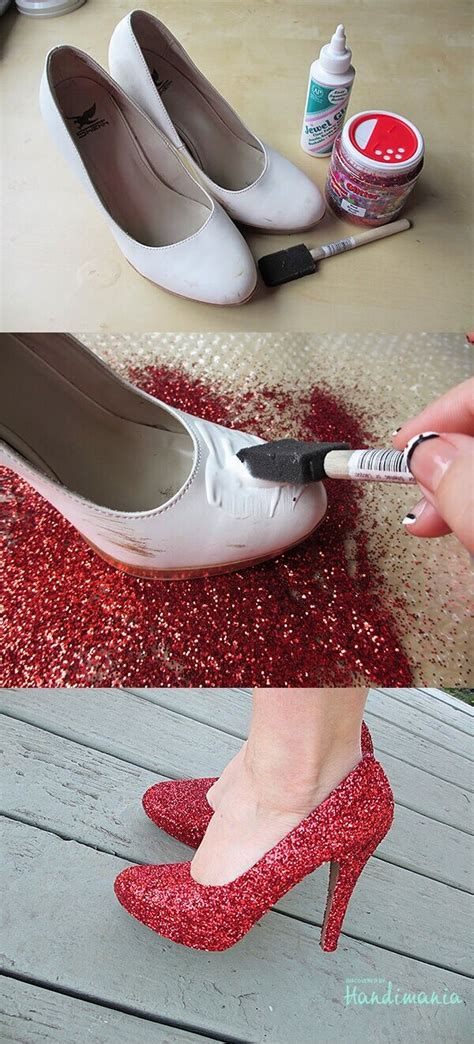 diy sparkly shoes 16 fashionable diy heels makeover styles weekly