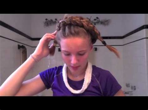 hairstyles for an irish dancing feis irish dance wig tutorial for long thick hair youtube