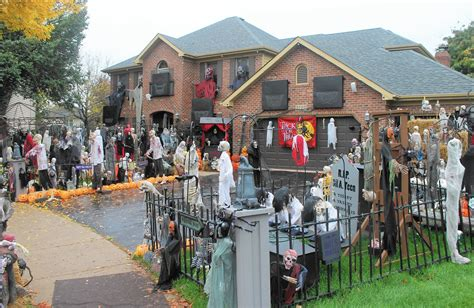 decorated homes for halloween naperville halloween house s popularity sparked its demise