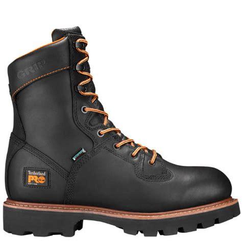 timberland logger boots timberland s timberland pro crosscut 8 quot soft toe