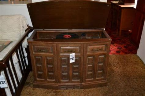 electrophonic record player cabinet console radio record player 8 track by electrophonic