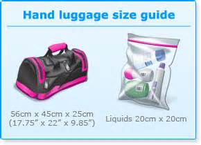 luggage size and airport security