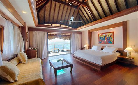 moorea pearl resort and spa overwater bungalow manava resort spa south seas adventures