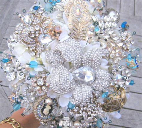 Etsy Flowers - jewel bouquets prairie weddings