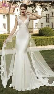 fitted wedding dresses beautiful mermaid bodice fitted 2016 wedding dresses hollow back satin lace appliques bridal