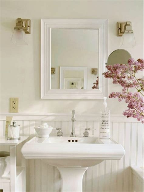chic bathroom decorating ideas shabby chic bathrooms ideas