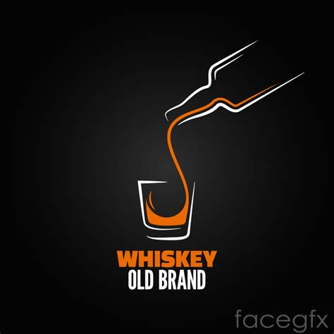 drink vector whisky drinks logo vector over millions vectors stock