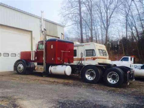 peterbilt 1992 sleeper semi trucks